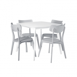 Söögilauakomplekt BALLOON 4-tooliga