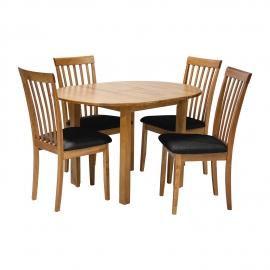 Söögilauakomplekt MIX & MATCH 4-tooliga