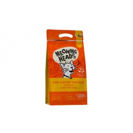 MEOWING HEADS KASSI TÄISSÖÖT PAW LICKIN CHICKEN 1,5KG