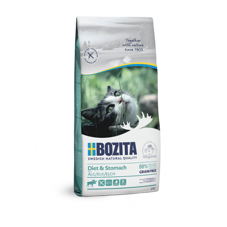 Bozita Diet & Stomach Grain Free Elk kassitoit 2kg