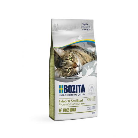 Bozita Indoor & Sterilised Chicken kassitoit 10kg