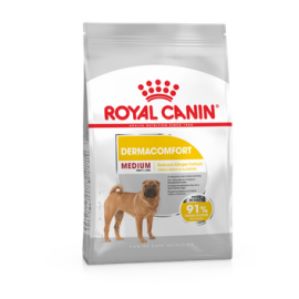 Royal Canin Medium Dermacomfort 10kg koeratoit