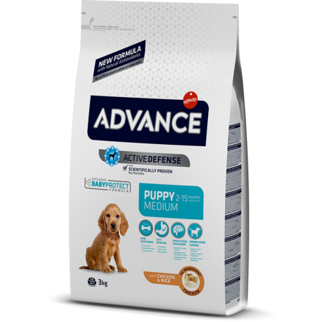 Advance koeratoit Medium Puppy chicken & rice 12kg