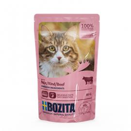BOZITA VEISELIHA TÜKID KASTMES kassi täissööt 12x85g