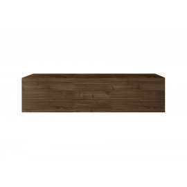 Seinakapp INFINITY tume pähkel, 138x30xH29 cm