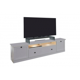 TV-alus BAXTER valge, 177x41xH49 cm LED