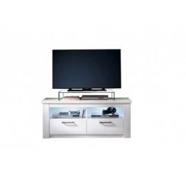 TV-alus GEORGIA valge LED, 139x47xH58 cm