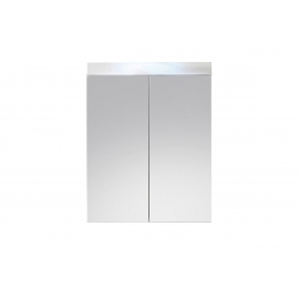Peegelkapp AMANDA valge läige, 60x17xH77 cm LED