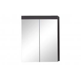 Peegelkapp AMANDA hall läige, 60x17xH77 cm LED
