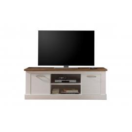 TV-alus Toronto valge / pähkel, 160x52xH60 cm