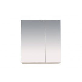 Vannitoakapp Porto valge LED, 65x21xH70 cm