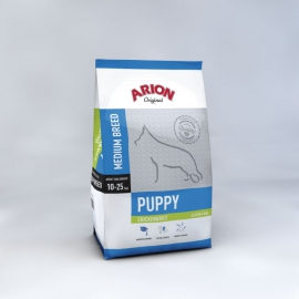 ARION koeratoit ORIGINAL PUPPY MEDIUM BREED CHICKEN & RICE 3kg