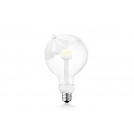 LED lamp MOVE ME umbrella valge, 5.5W, E27, 2700K