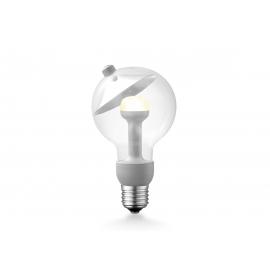 LED lamp MOVE ME cone hõbe, 3W, E27, 2700K