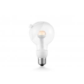 LED lamp MOVE ME cone valge, 5,5W, E27, 2700K