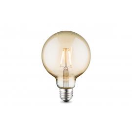 LED lamp GLOBE merevaik, D9,5xH13,5 cm, 4W, E27, 2700K