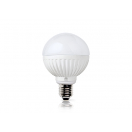 LED lamp ROUND valge, D8xH11,2 cm, 8,5W, E27, 2700K