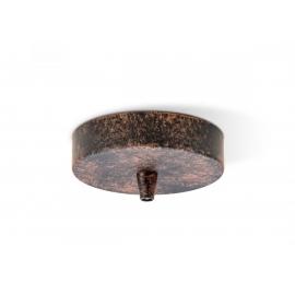 Rosett METAL rooste, D11xH3 cm