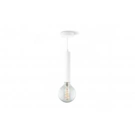 Rippvalgusti FACIL valge, D10xH147 cm, E27