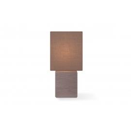 Lauavalgusti CHARM pruun, 13x13xH30 cm, E14