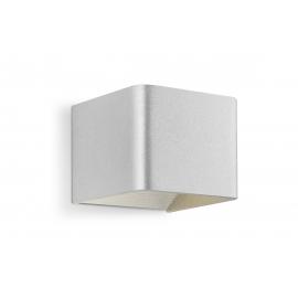 Seinavalgusti ANNA hõbe, 11x11xH8,5 cm, LED