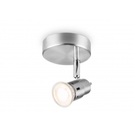 Kohtvalgusti CILINDRO metall, D13,7xH9,5 cm, LED