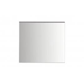 Peegel SET-ONE valge läige / tumehall, 60x2xH55 cm