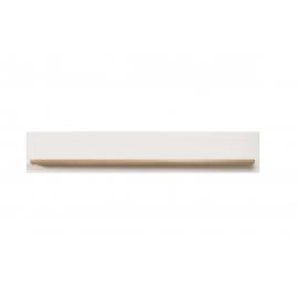 Seinariiul SHADE valge mänd / tamm, 146x21xH25 cm