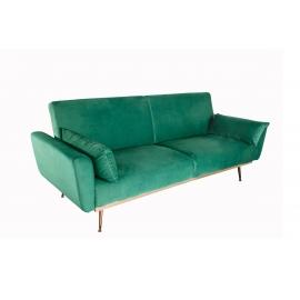 Diivanvoodi BELLEZA roheline, 208x102xH84 cm