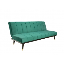 Diivanvoodi PETIT BEAUTE roheline 180x75-108xH66-79 cm