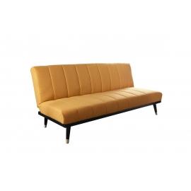 Diivanvoodi PETIT BEAUTE kollane, 180x75-108xH66-79 cm