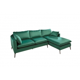 Nurgadiivan FAMOUS roheline, 260x85xH93 cm