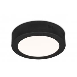 Laevalgusti SKA must, D17xH3,6 cm, LED