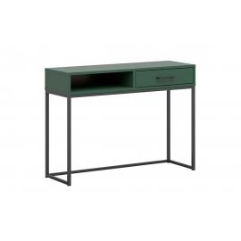 Tualettlaud roheline / mattmust, 86x48xH96 cm