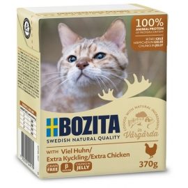 Bozita kassikonserv Minced Chicken in Jelly 16x370g