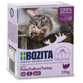 Bozita kassikonserv Turkey in Jelly 16x370g
