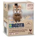 Bozita kassikonserv Chicken & Turkey in sauce 16x370g