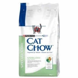 CAT CHOW ADULT STERILIZED kassitoit 15kg