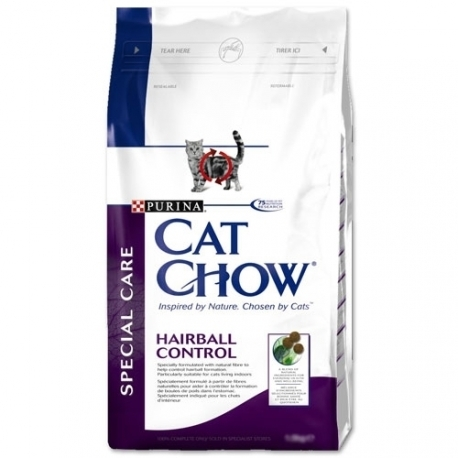 CAT CHOW ADULT HAIRBALL kassitoit 15kg