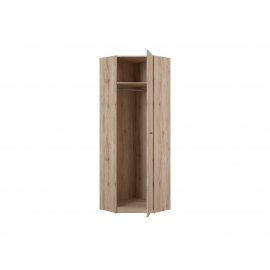 Nurgariidekapp Executive tamm, 72,5x72,5xH218,5 cm