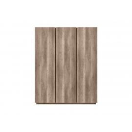 Riidekapp tamm, 171,5x61,5xH211,5 cm