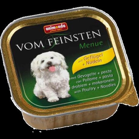 Animonda Vom Feinsten koeratoidu konserv linnuliha ja pastaga 22x150g