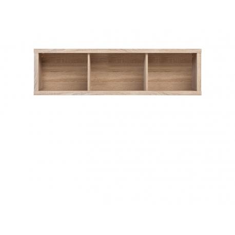 Seinakapp Kaspian, avatud riiulid, hele tamm