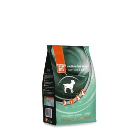 Total Bite Puppy medium koeratoit 12kg