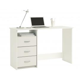 Kirjutuslaud ARISTOTE valge, 123x50xH76,5 cm
