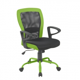 Töötool LENO 60x57xH91-98,5cm, hall-roheline