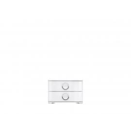 Öökapp valge, 53x43,5xH35,5 cm