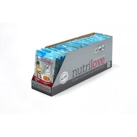 Nutrilove kassikonserv lõhega 28X85g