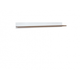 Seinariiul HEDA kuldne / valge, 135x19,5xH14 cm