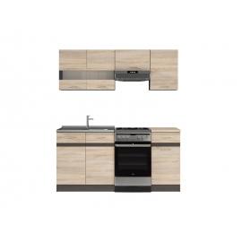 Köögimööbli komplekt JUNONA LINE 170 cm tamm